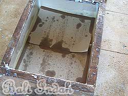 手作り石鹸ブラットワンギ生産、型枠