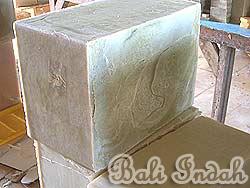 手作り石鹸ブラットワンギ生産、乾燥