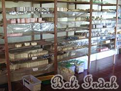 手作り石鹸ブラットワンギ生産、石鹸棚干し